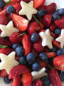 Red Wite Blue Salad
