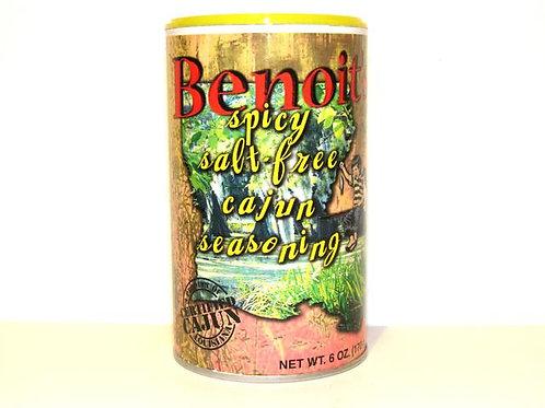 Benoit's Spicy Salt-free Cajun Seasoning