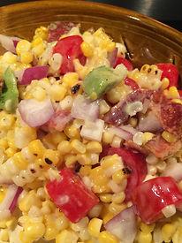 Corn Salad Scoopable