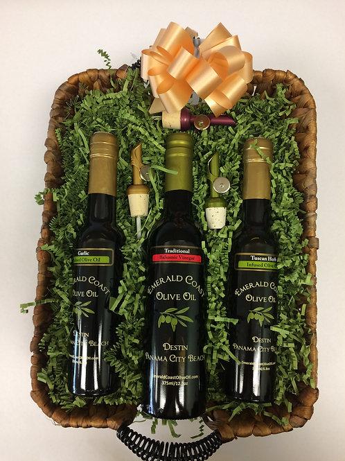 Three Bottle Gift Basket