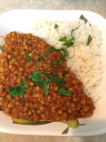 Tomato Lentil Curry