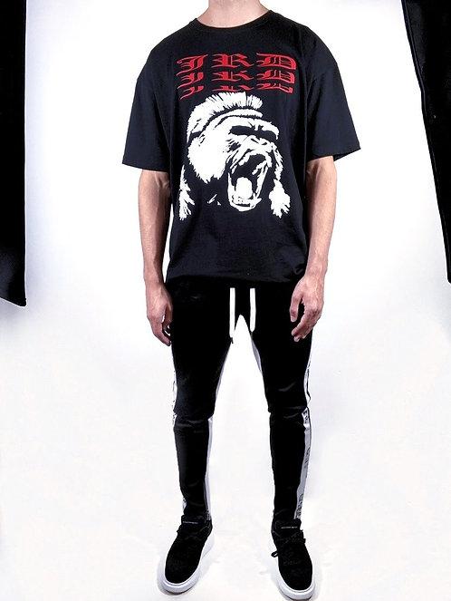 Gorilla Box T shirt - Black/Red