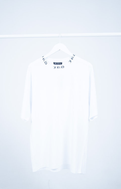 Collar Box T shirt - White
