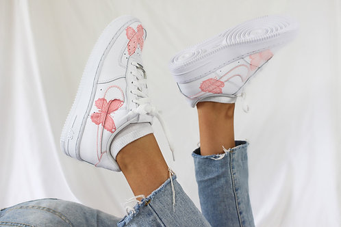 Nike Air Force 1 Butterfly - Pink