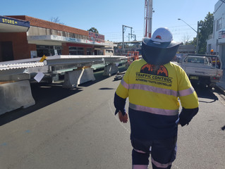 Busy Week for Site Security & Traffic Control, Sydney
