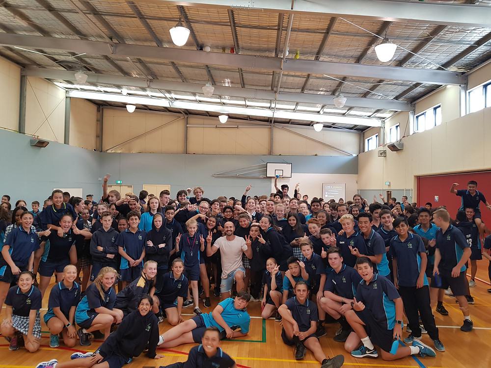 Guest Speaker for schools Melbourne, Luke S. Kennedy