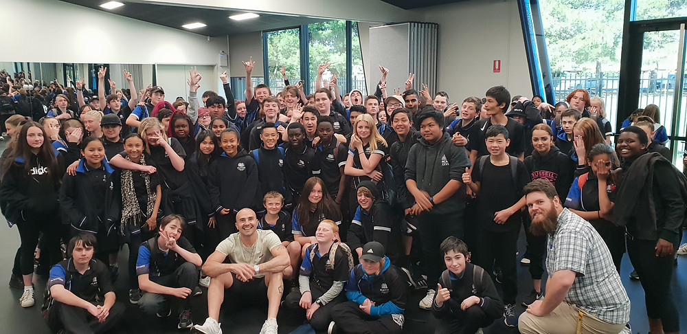 Playford International College Motivational speakers for schools
