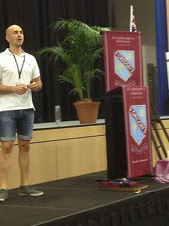 Motivational speaker, Luke S. Kennedy, Sydney
