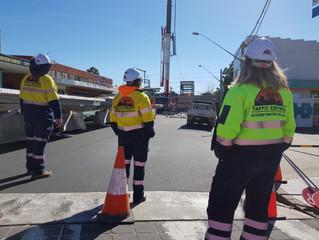 Massive Traffic Control Sydney Works