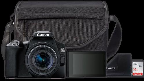 Canon EOS 250D Essential Travel Kit