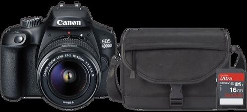Canon EOS 4000D Starter Kit