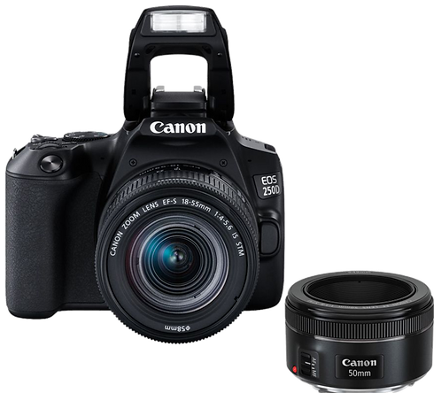 Canon EOS 250D Essential Portrait Kit
