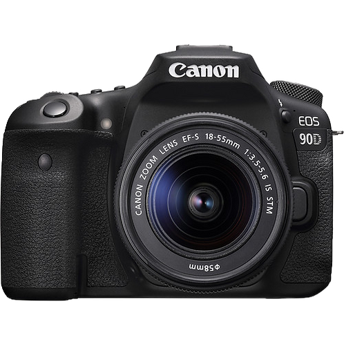 Canon EOS 90D & 18-55 IS STM