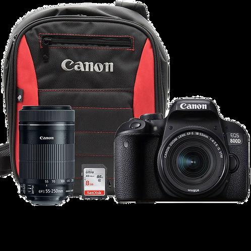 Canon EOS 800D Double IS Kit