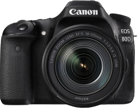 Canon EOS 80D & 18-135 IS USM