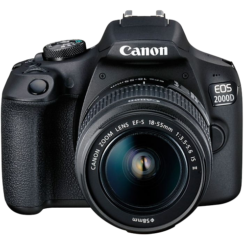 Canon EOS 2000D 18-55 IS II Lens Kit