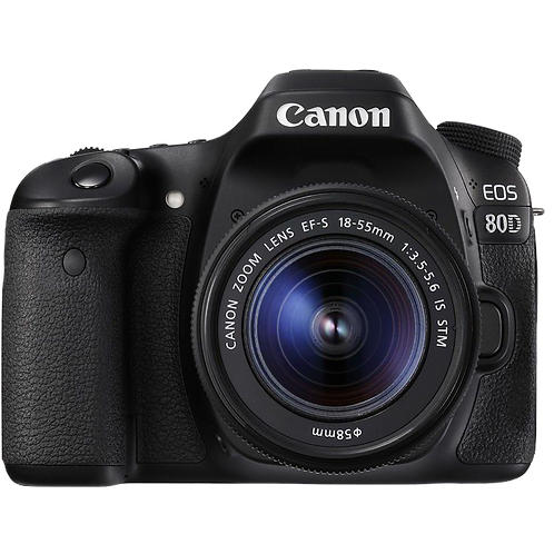 Canon EOS 80D & 18-55 IS STM