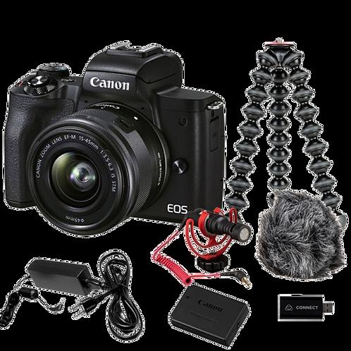 Canon EOS M50 Mark 11 - Premium Live Stream Kit