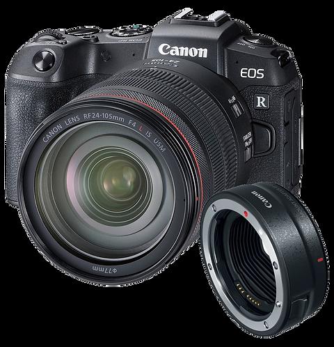 Canon RP & RF 24-105MM + RF-EF Adaptor
