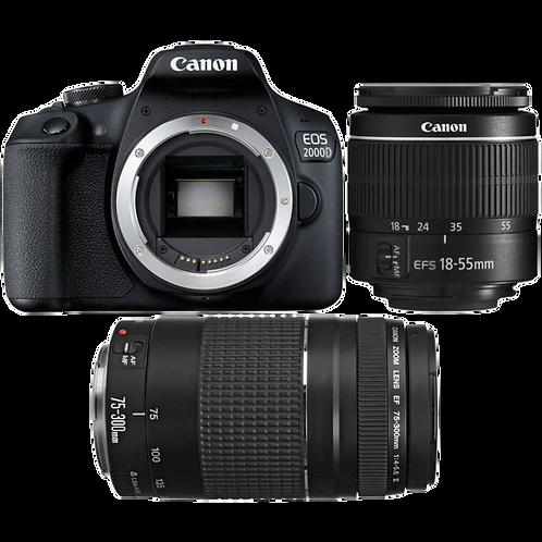 Canon EOS 2000D Double IS DC Kit
