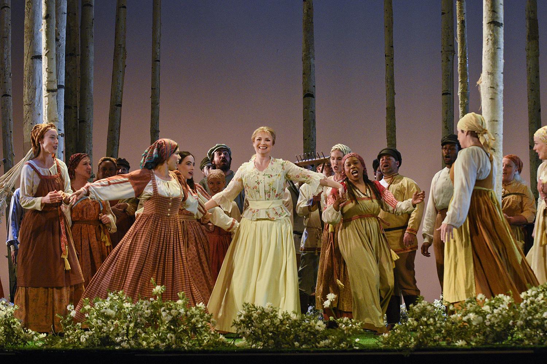 Olga and the choir
