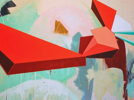Jennifer Morgan's 'Mesonoxian Meditations' Explore Abstract Color and Subconscious Archi