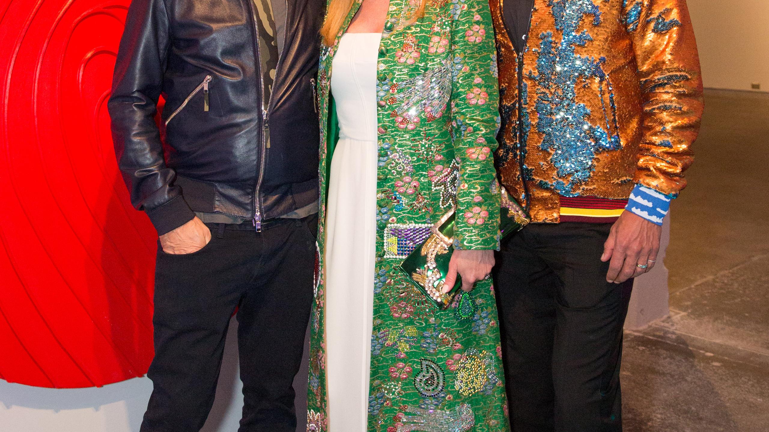 Marc Quinn, Nancy Rodgers, Michael Flores