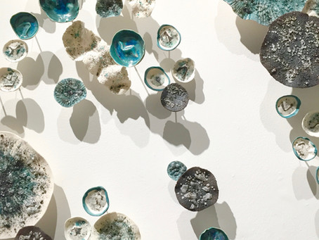 Gregory Miller Transforms Ceramic and Glass into Organic Forms