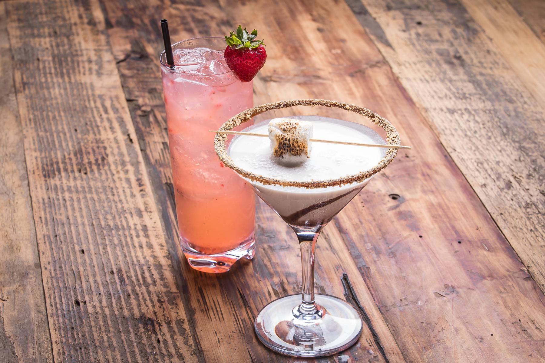 Elixir & S'more Martini