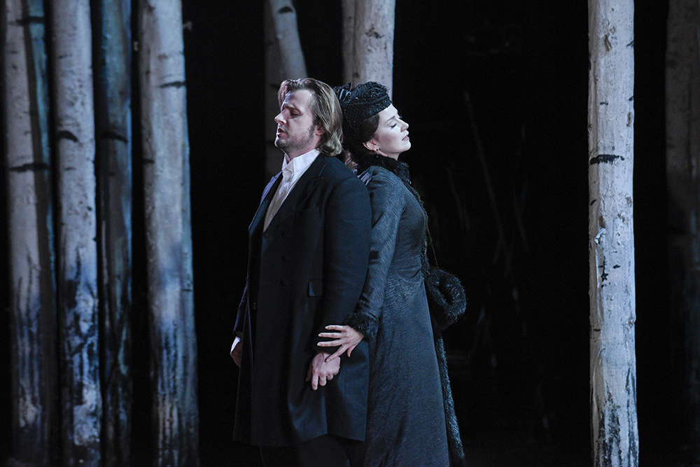 Eugene Onegin and Tatyana