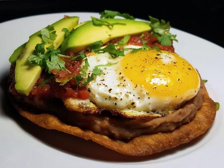 Huevos Rancheros with Roasted Tomato Salsa