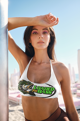Loaded For Bass Sports Bra
