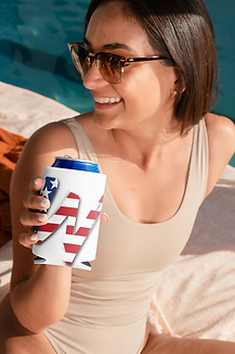 koozie-mockup-of-a-woman-at-a-spring-bre