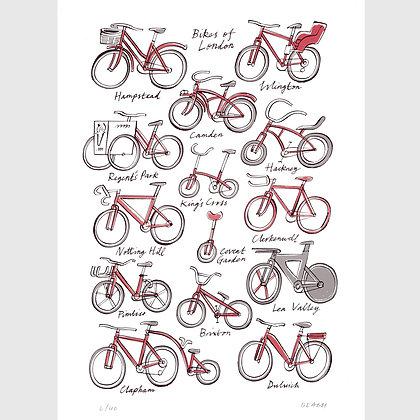 Bikes of London