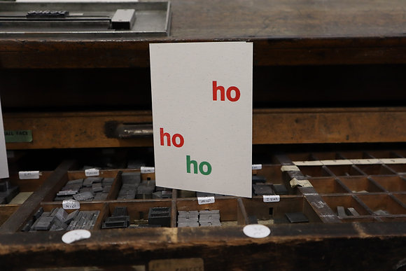 Ho Ho Ho Christmas Card Pack