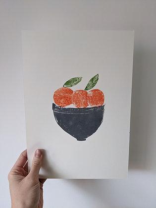 Clementine Fruit Bowl