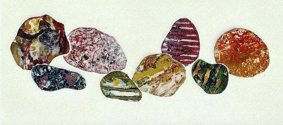Norfolk Beach Pebbles IV