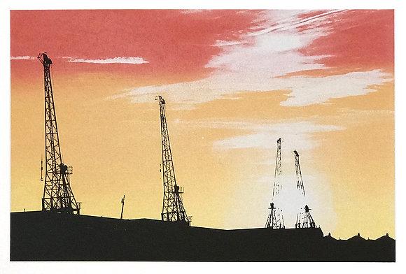M Shed Cranes