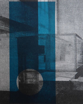 3. Reflections, Ostend_polyplate_litho_1