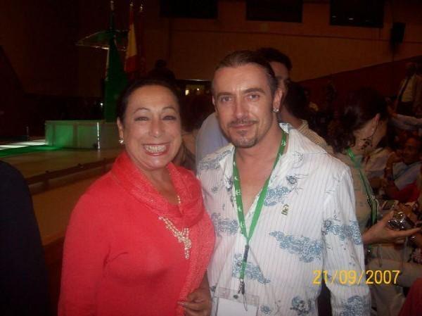Flamenco legend! Christina Hoyos in Sevilla Spain 2007