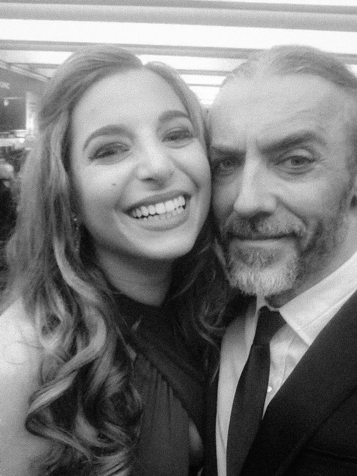 Stage daughter 'Fran' Phoebe Panaretos