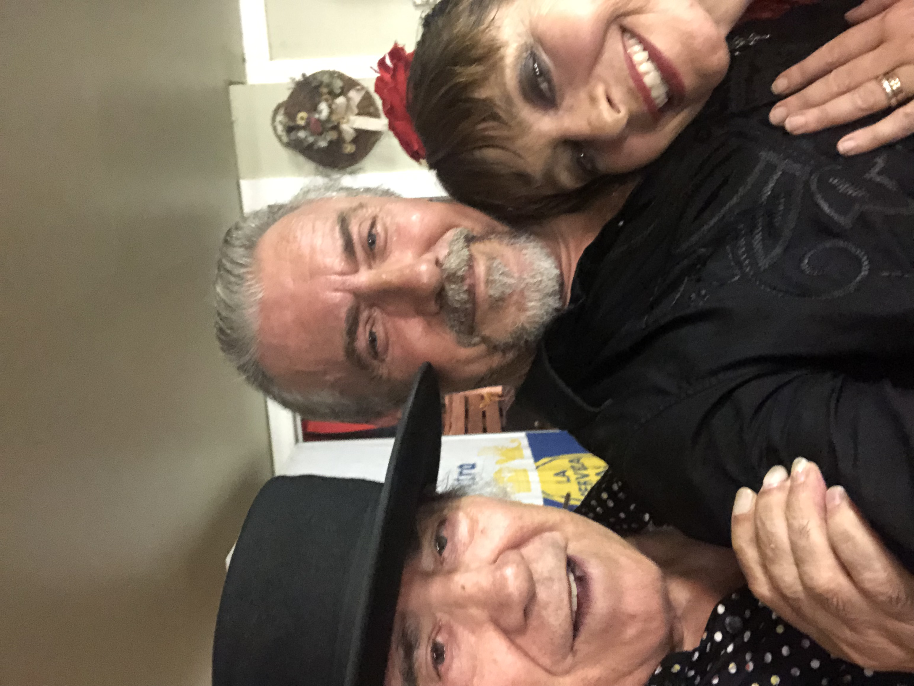 Great times with El Brujo and Laura