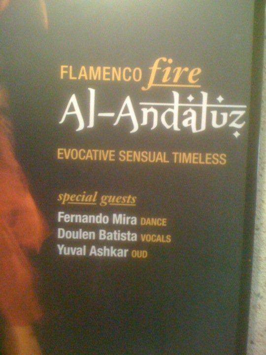 FLamenco Fire poster at the QPAC