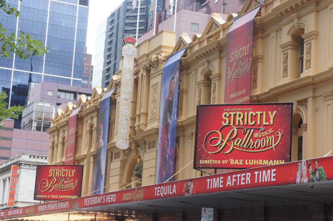 Her Majestys Theatre Melbourne 2015