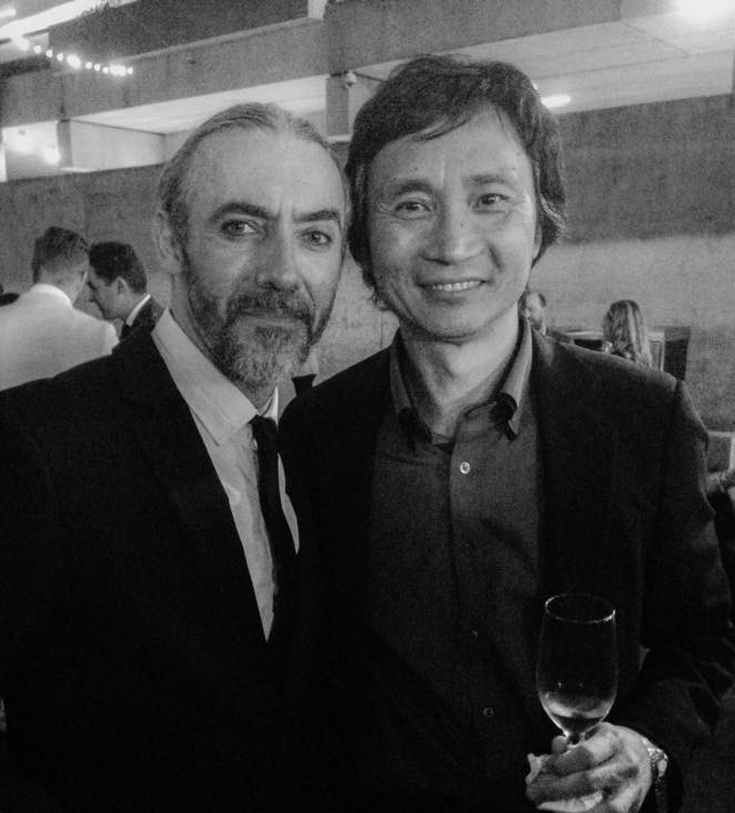 Fernando & LI Cuxing at Strictly Ballroom after party 2015