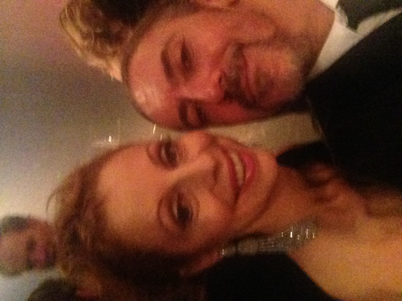 The beautiful Heather Mitchell Opening night Strictly Ballroom 2014