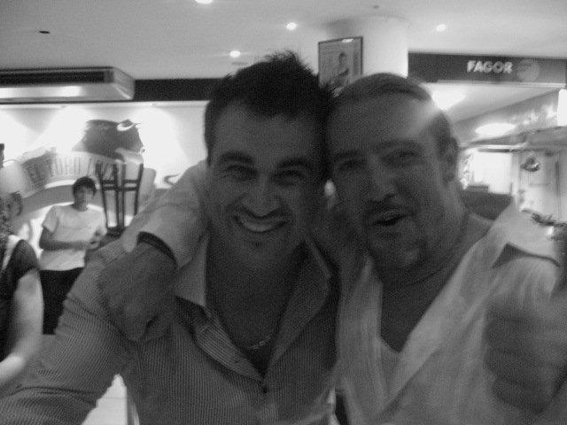 Miguel Maestre at El Toro Loco restaurant Sydney