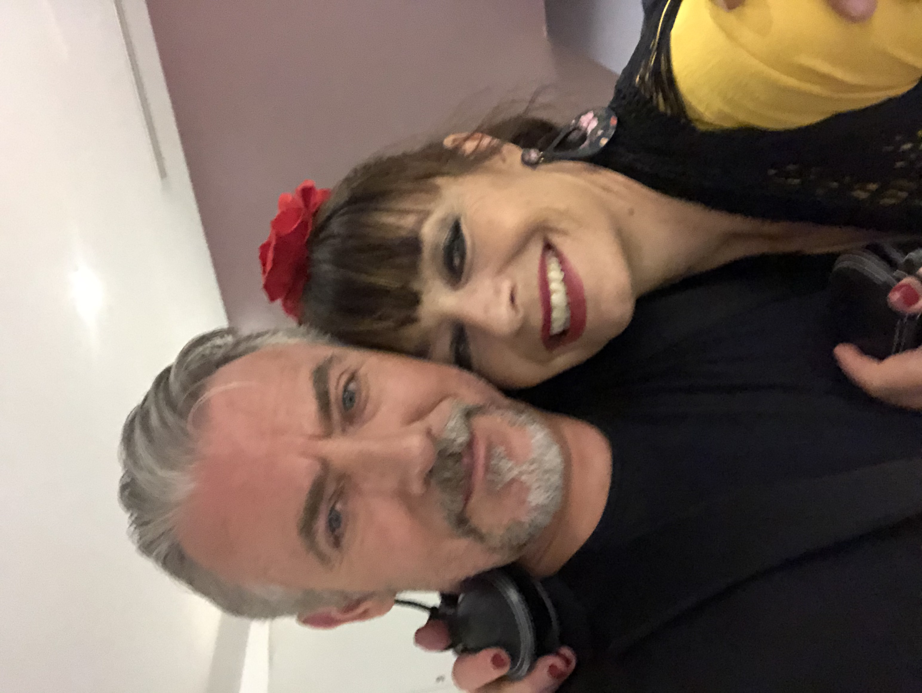 Laura and I before our show Melbourne 2019