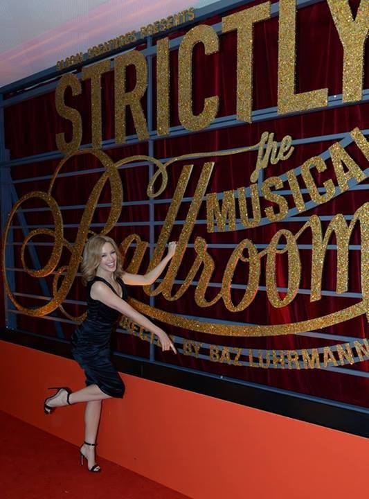 Kylie Minogue at Strictly Ballroom's Opening night 2014