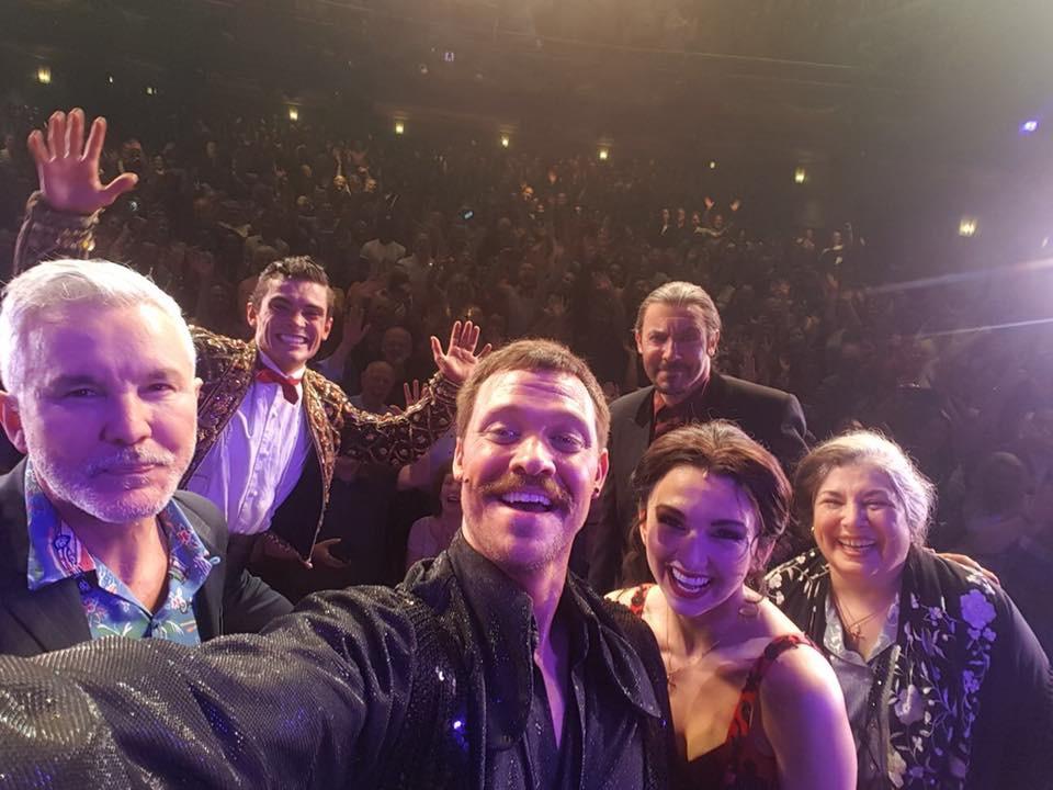Baz Luhrmann strictly ballroom selfie 2018 selfie
